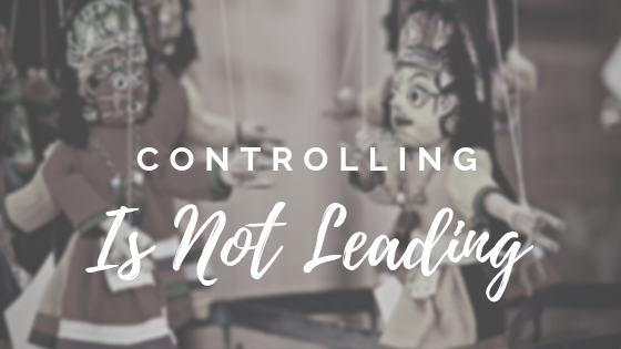 controlling is not leading