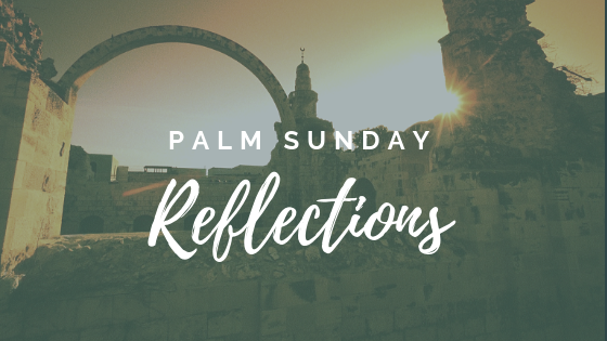 palm sunday reflections